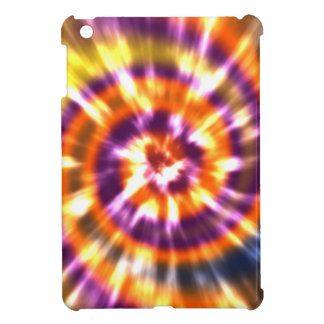 Hippy Peace Retro Tie Dye Colorful Boho iPad Mini Cover