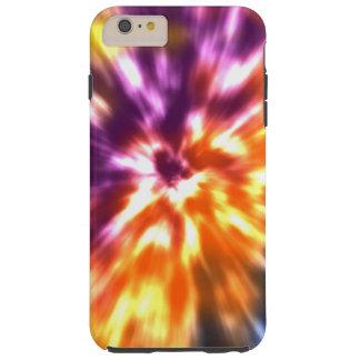 Hippy Peace Retro Tie Dye Colorful Boho Tough iPhone 6 Plus Case