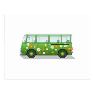 Hippy Van Postcard