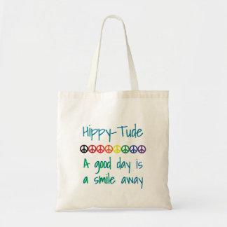 Hippytude Good Day Tote Bag