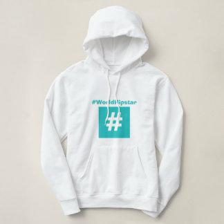 Hipstar Hashtag Blue Hoodie