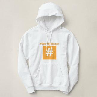 Hipstar Hashtag Orange Hoodie