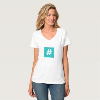 Hipstar Hashtag T-shirt