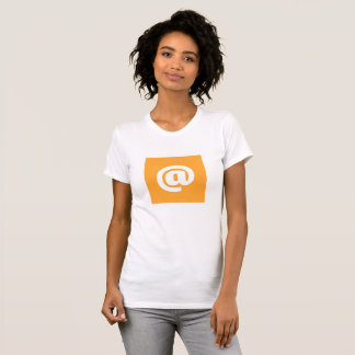 Hipstar @ T-Shirt (Orange)
