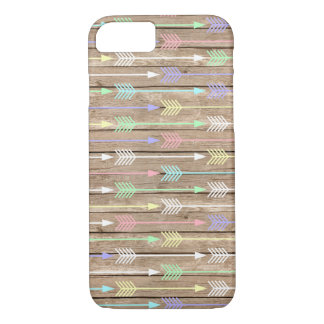 Hipster Arrow and Wood iphone case iPhone 7 Cover