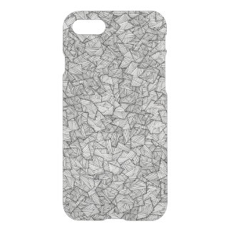 Hipster Artsy Hand Drawn Geometric Linear Pattern iPhone 7 Case