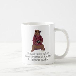 Hipster Bear Mug