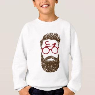 Hipster biker sweatshirt