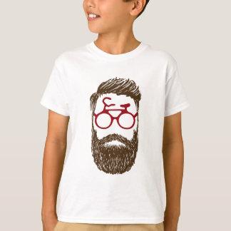 Hipster biker T-Shirt