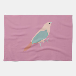 Hipster Birds Tea Towel