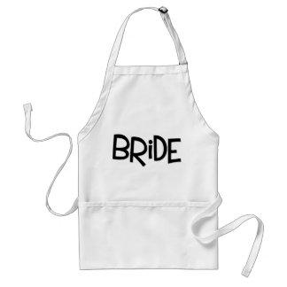 Hipster Bride Standard Apron