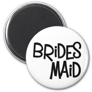Hipster Bridesmaid Magnets