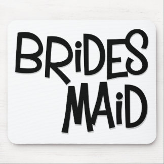 Hipster Bridesmaid Mouse Pad