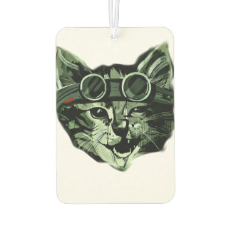 Hipster Cat Car Air Freshener