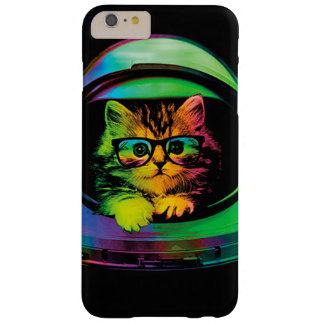 Hipster cat - Cat astronaut - space cat Barely There iPhone 6 Plus Case