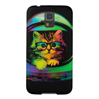 Hipster cat - Cat astronaut - space cat Galaxy S5 Covers