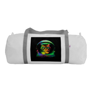 Hipster cat - Cat astronaut - space cat Gym Duffel Bag