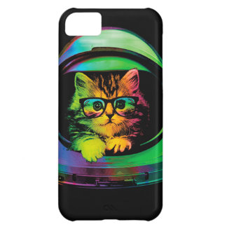Hipster cat - Cat astronaut - space cat iPhone 5C Case