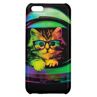 Hipster cat - Cat astronaut - space cat iPhone 5C Cover