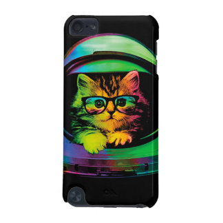 Hipster cat - Cat astronaut - space cat iPod Touch 5G Case