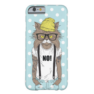 hipster cat iphone cover case boys grunge