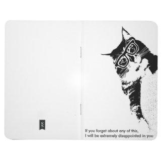 Hipster Cat Pocket Notebook
