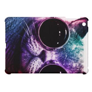 Hipster Cat Pop Art iPad Mini Cover