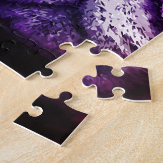Hipster Cat Pop Art Jigsaw Puzzle