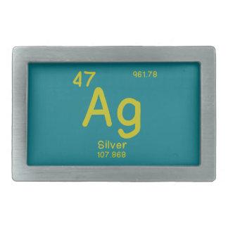 Hipster Chemistry Belt Buckle