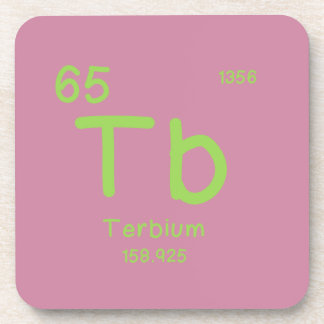 Hipster Chemistry Coaster