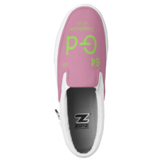 Hipster Chemistry Slip On Shoes