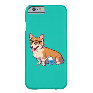 Hipster Corgi iPhone 6 Case (without