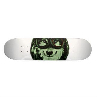 Hipster Dog Style Skateboard