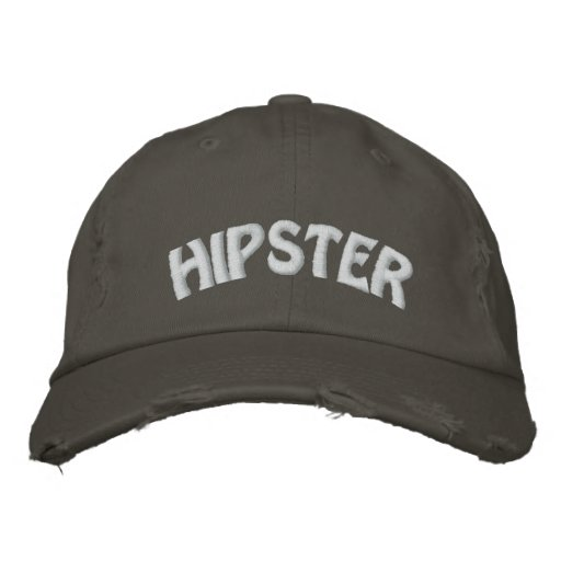 HIPSTER EMBROIDERED HAT