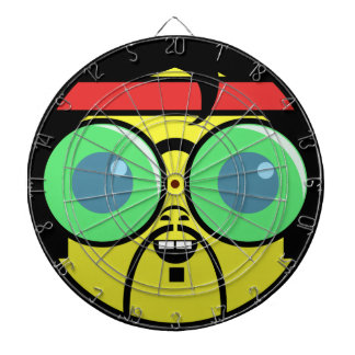 Hipster Face Dartboard