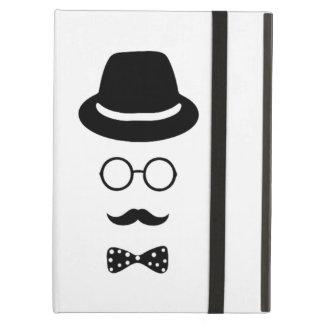 Hipster Face iPad Air Mini 2 3 4 Case No Kickstand iPad Air Cases