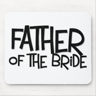 Hipster Father Bride Lite T Mousepads