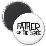 Hipster Father Bride Lite T Refrigerator Magnet