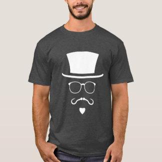 Hipster Fisherman Mustache T-Shirt