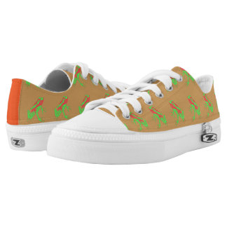 Hipster Frog Low Tops