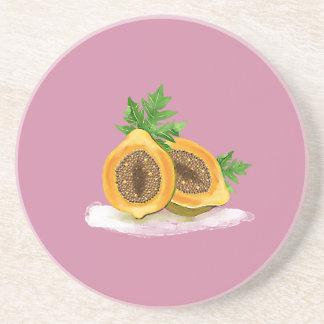 Hipster Fruit Coaster
