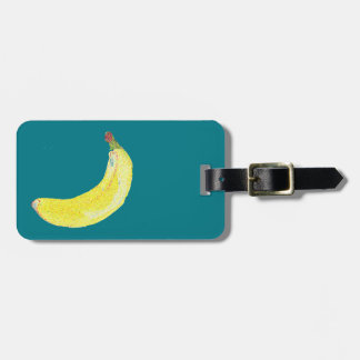 Hipster Fruit Luggage Tag