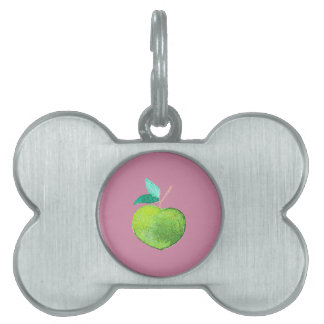 Hipster Fruit Pet ID Tag