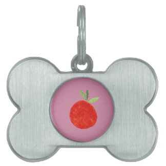 Hipster Fruit Pet Tag