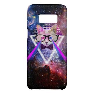 Hipster galaxy cat Case-Mate samsung galaxy s8 case