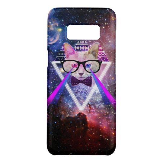Hipster galaxy cat Case-Mate samsung galaxy s8 case