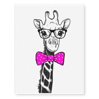 Hipster Giraffe
