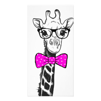 Hipster Giraffe Card