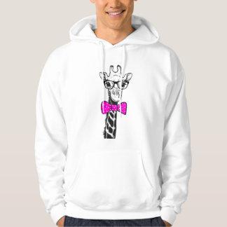 Hipster Giraffe Hoodie