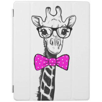 Hipster Giraffe iPad Cover